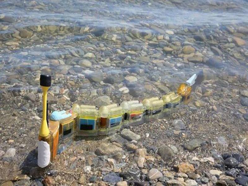 ربات مارماهی که منبع آلودگی آب را ردیابی میکند