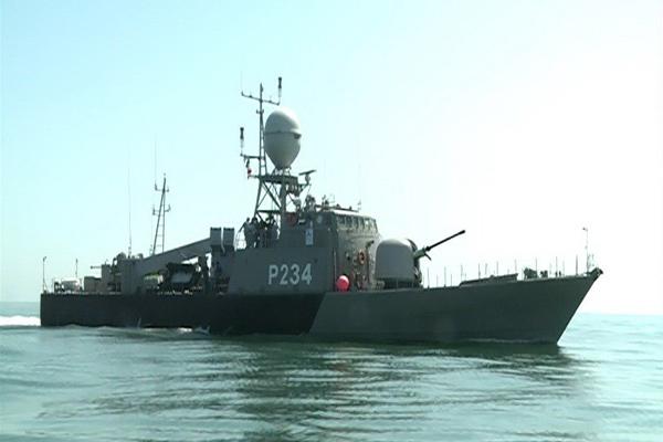 جدیدترین ناو موشکانداز ایرانی به نیروی دریایی ارتش ملحق شد