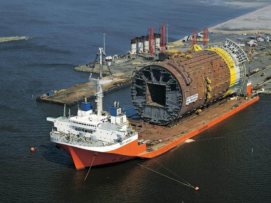 داكوایز: قدرت برتر جهان در حمل و نقل سازههای دریایی