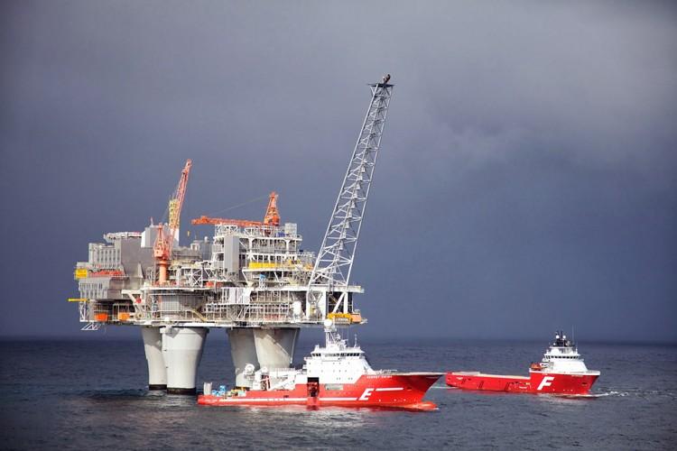 تصاویری از بزرگترین سکوی گازی جهان