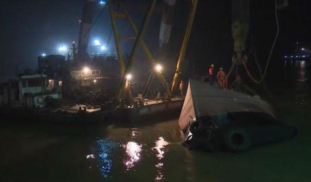 مرگ 21 نفر در حادثه غرق یدککش در چین