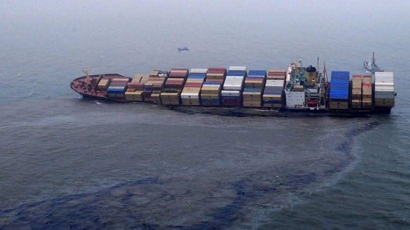 کشتی باری در آبهای فیلیپین به گل نشست