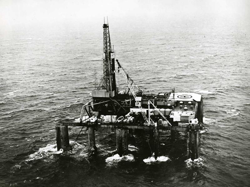 اولین سکوی نیمه شناور ساخت نروژ چگونه تاریخ ساز شد؟