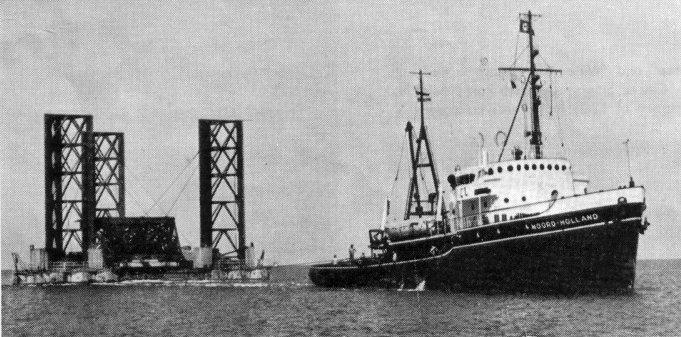نقش جنگ جهانی دوم در پیشرفت صنعت فراساحل