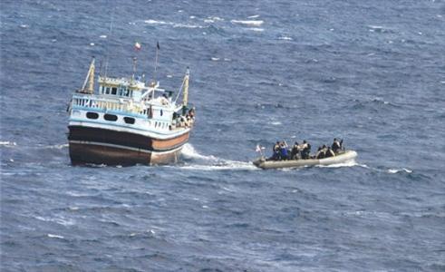 ربوده شدن کشتی ایرانی در سومالی