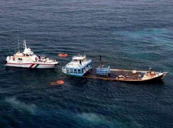 غرق شدن دو لنجباری در حوالی ابوموسی