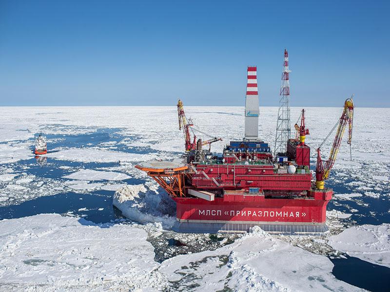 گازپروم چاههای نفتی بیشتری در قطب شمال حفر میکند
