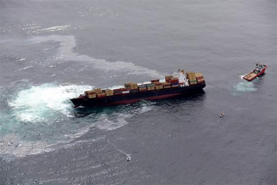 کشتی کارگوی هند در ساحل عمان غرق شد