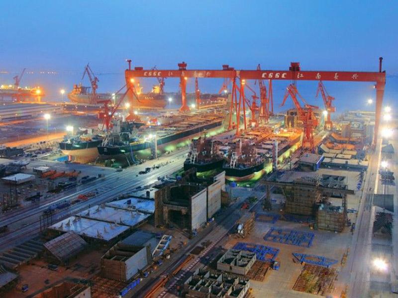 یارد کشتیسازی Jiangnan چین برای الجزایر شناور LPG میسازد