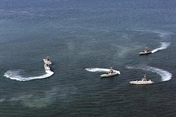 اجرای نخستین عملیات مشترک گارد ساحلی ایران و عراق