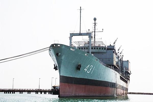الحاق یدککش «زرینه رود» به ناوگان دریایی ارتش