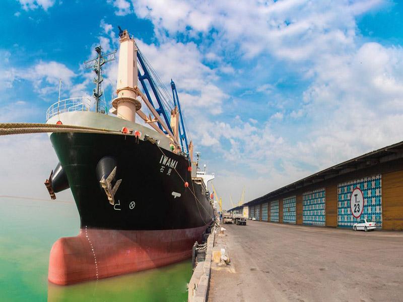 پهلوگیری نخستین کشتی NYK در منطقه ویژه اقتصادی بندرامام خمینی