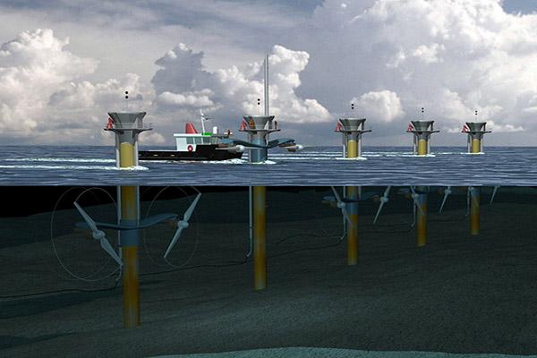 توربین جریانی جزر و مدی در دو منطقه از خلیج فارس طراحی میشود