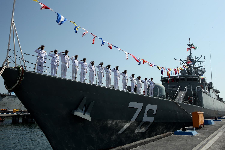 نیروی دریایی ایران به طرف اقیانوس اطلس حرکت میکند