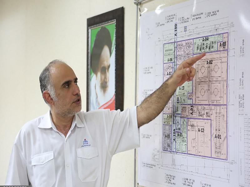 بازدید مدیرعامل شرکت نفت و گاز پارس از فازهای درحال توسعه پارس جنوبی