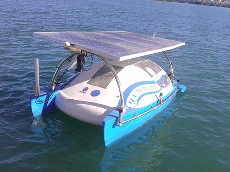 طراحی و ساخت قایق ربات خودران در دانشگاه تهران
