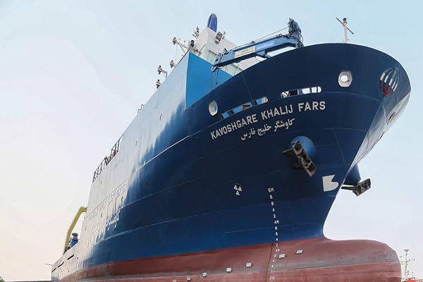 تحویل نخستین کشتی تحقیقاتی اقیانوس پیمای ساخت ایران