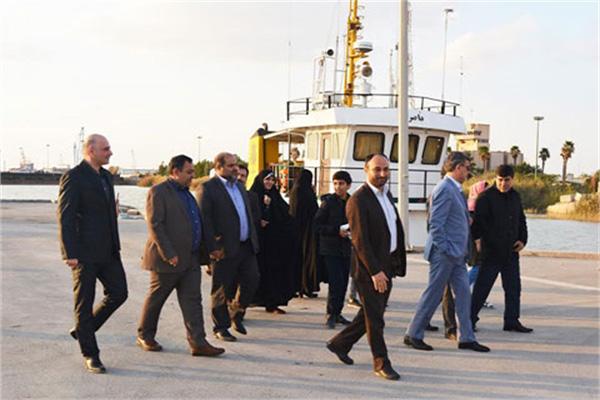 اعضای کمیسیون اجتماعی مجلس از بندرخرمشهر بازدید کردند
