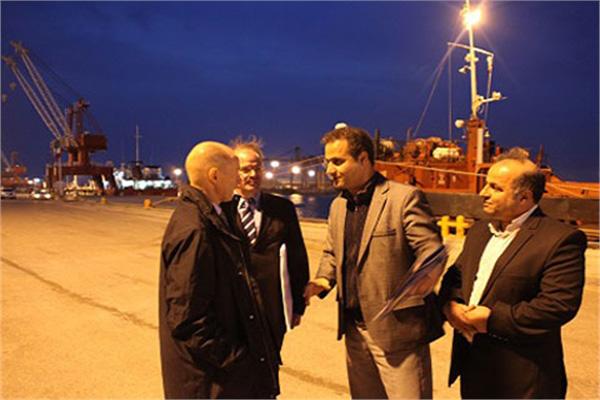 بازدید سفیر فنلاند از منطقه ویژه اقتصادی بندر امیرآباد