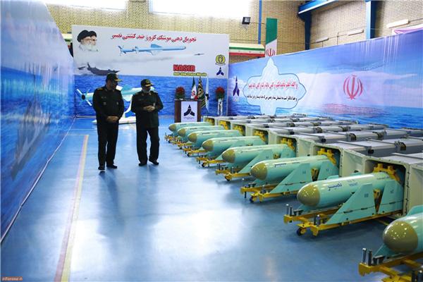 تحویل انبوه موشک جدید کروز ضد کشتی نصیر به سپاه