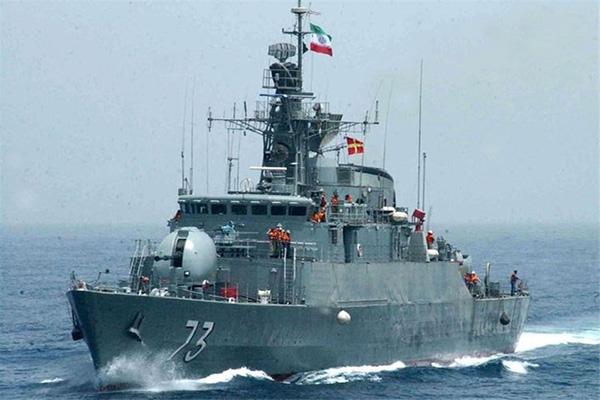 ناو موشکانداز در دریای خزر به نیروی دریایی ارتش الحاق میشود
