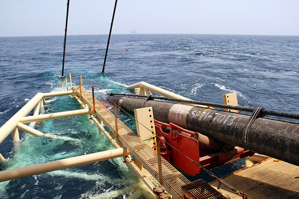 افق روشن كاری تاسیسات دریایی در عرصه لولهگذاری دریایی