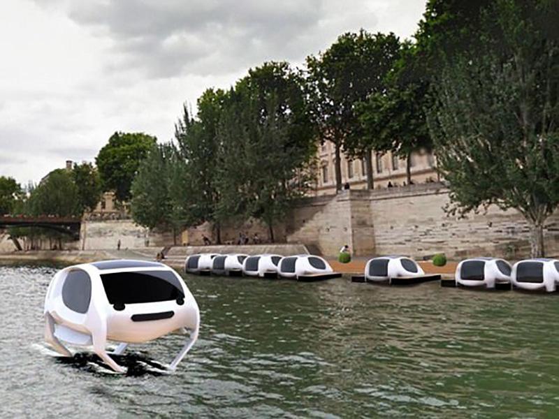 برنامه استارتاپ فرانسوی برای تولید قایقهای تاکسی