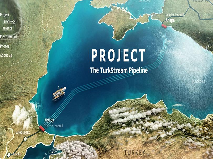 آغاز ساخت بخش دریایی خط لوله گاز روسیه به اروپا