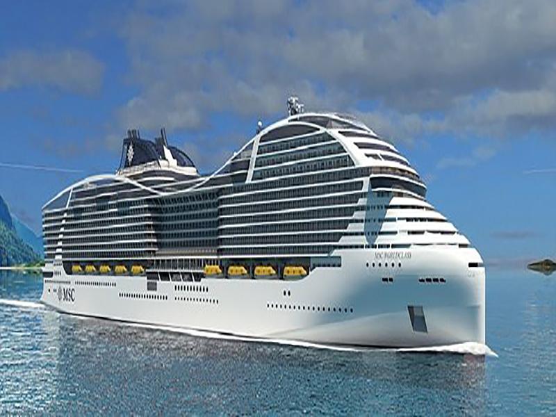 نسل آتی کشتیهای کروز با بالاترین ظرفیت حمل مسافر