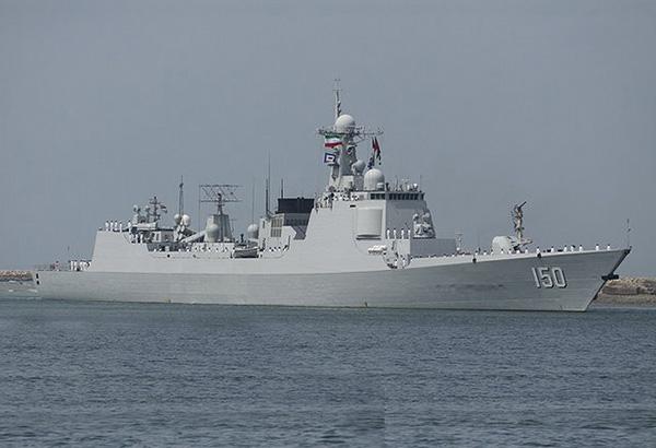 تمرین مشترک ناوهای نیروی دریایی ارتش ایران و چین
