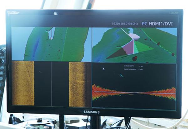 عملیات هیدروگرافی بندر شهید رجایی با جدیدترین تجهیزات روز دنیا