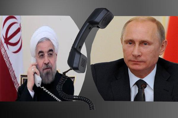 گفت و گوی پوتین و روحانی درباره همکاری در حوزه نفت و گاز