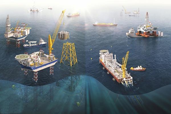 ماراتن توسعه میادین نفت و گاز فراساحلی در خلیج فارس