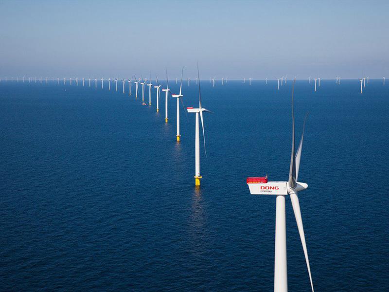 ساخت بزرگترین نیروگاه بادی فراساحلی جهان