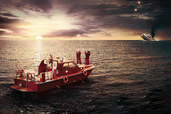 شناور ایرانی در آبهای کویت غرق شد