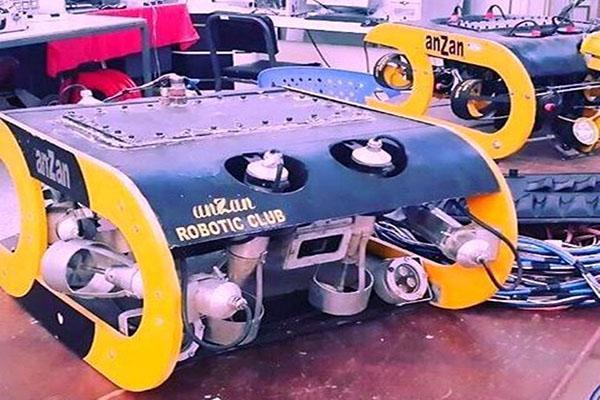 دسترسی به اعماق آبهای کشور با ربات زیردریایی وطنی