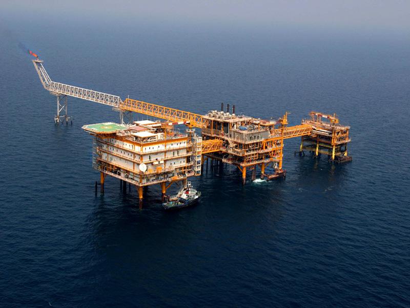 تعمیرات اساسی سکوهای گازی پارس جنوبی پایان یافت