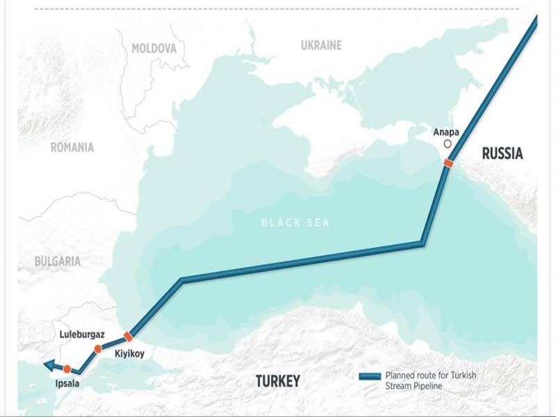 روسیه قصد حذف اوکراین از مسیر انتقال گاز به اروپا را دارد