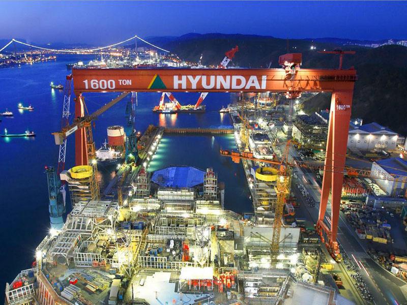 تکنولوژی هوشمند سازی در بزرگترین کشتی سازی دنیا