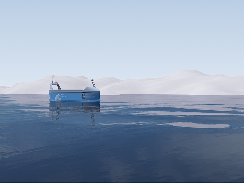 ساخت نخستین کشتی باری خودکار دنیا در نروژ