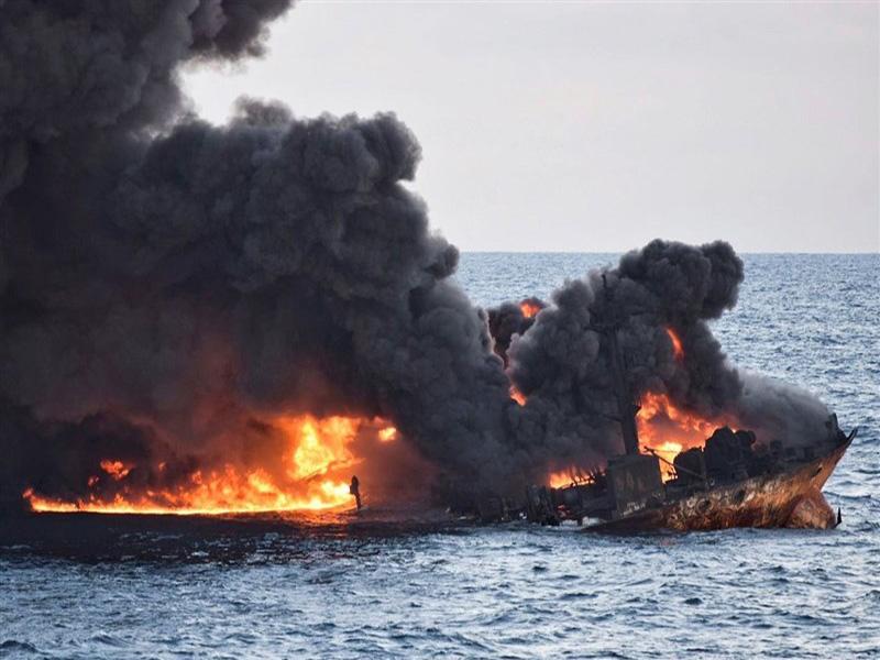 ۲ درخواست مهم ایران از چین درباره نفتکش سانچی