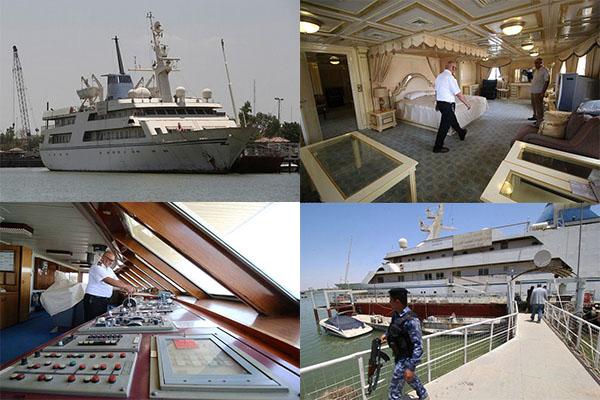 کشتی تفریحی صدام، هتل ملوانان میشود
