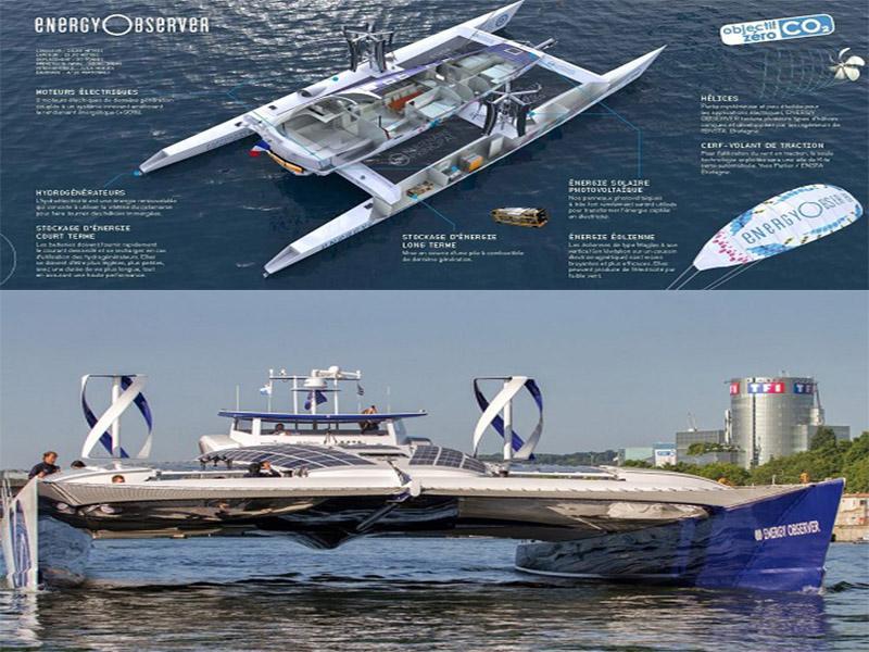 رسیدن به بیستمین مقصد؛ اولین کشتی تجدید پذیر و هیدروژنی جهان