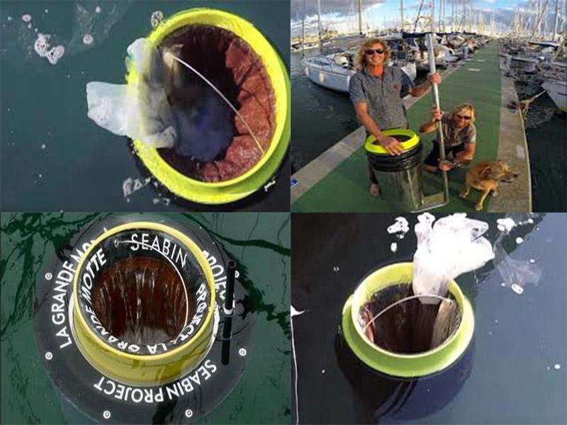ابزاری برای جمعآوری خودکار زبالههای اقیانوس
