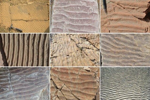 بررسی شرایط اقلیمی با کمک خطوط ماسهای در ساحل