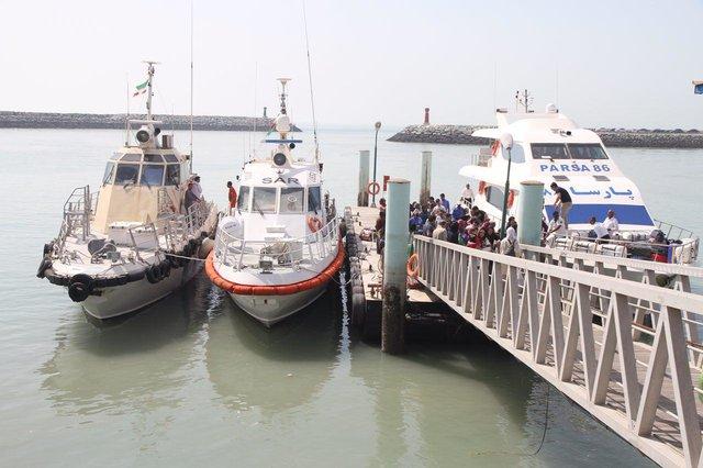ساخت 6 اسکله شناور مسافربری به همت صنعتگران قشمی