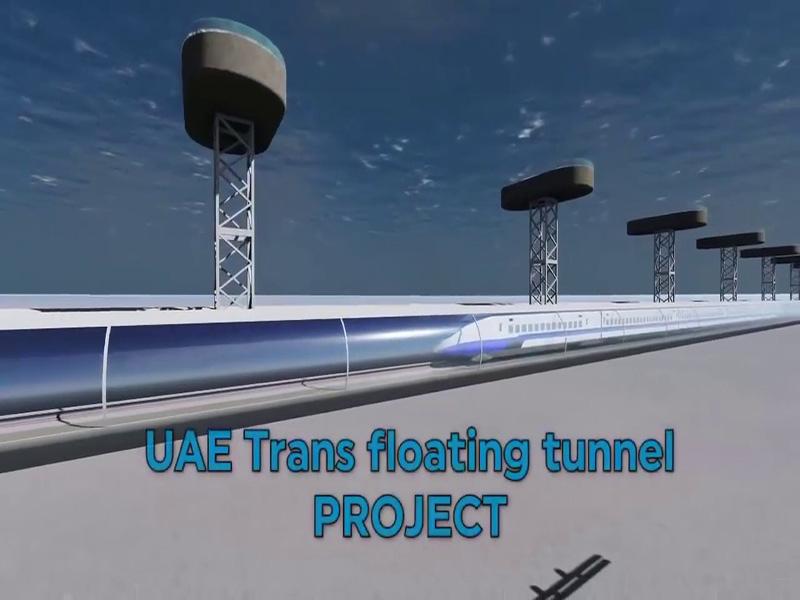 اتصال امارات به هند با خط ریلی زیردریایی