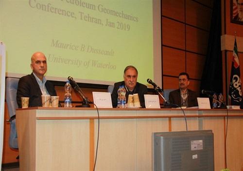 سومین کنفرانس ملی ژئومکانیک نفت در مدیریت اکتشاف برگزار شد