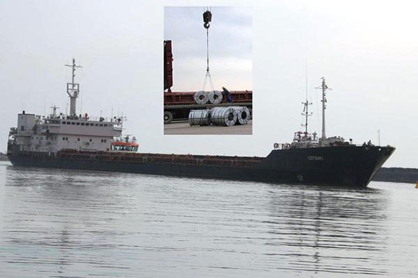 پهلوگیری موفق یک فروند کشتی با 5600 تن کالا در بندر  آستارا