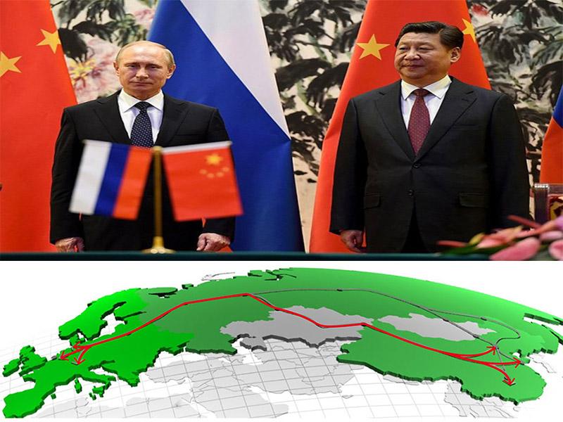 برنامه ریزیهای بزرگ و جامع روسیه برای جاده ابریشم چین
